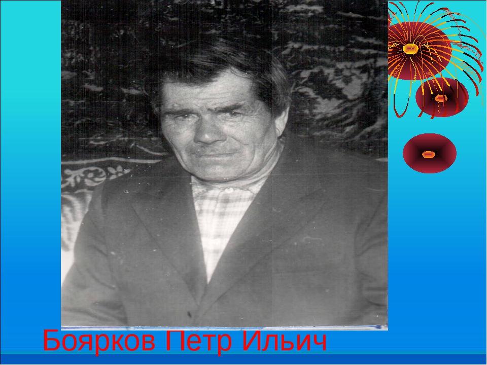 Боярков Пётр Ильич