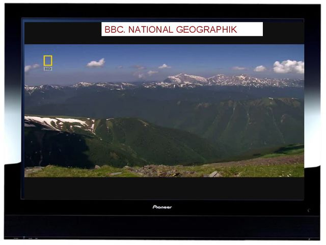 BBC. NATIONAL GEOGRAPHIK