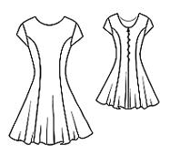 эскиз рейтингово платья 4