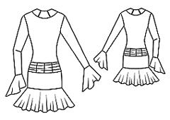 эскиз рейтингово платья 2