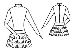 эскиз рейтингово платья 1