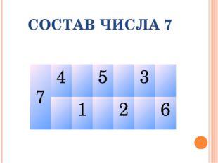 СОСТАВ ЧИСЛА 7 7453 126