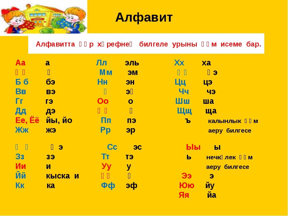 полотна татарский алфавит с картинками экскурсия спальным