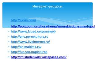 http://akvis.com/ http://ecozoom.org/flora-fauna/amurskij-tigr-simvol-goda.ht