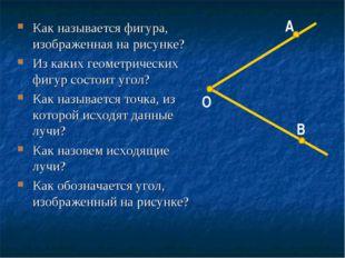 Как называется фигура, изображенная на рисунке? Из каких геометрических фигур
