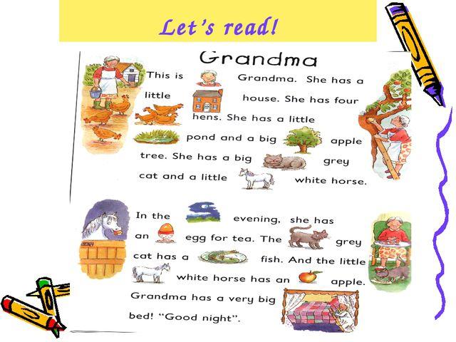 Let's read!