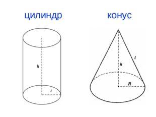 цилиндр конус