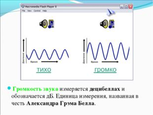 Громкость звука измеряется децибеллах и обозначается дБ. Единица измерения, н