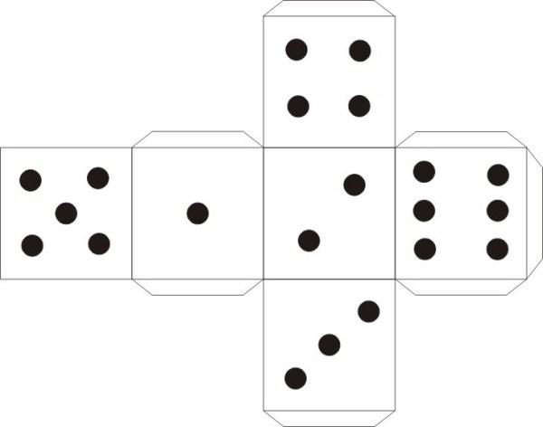 Как сделать игровой кубик своими руками