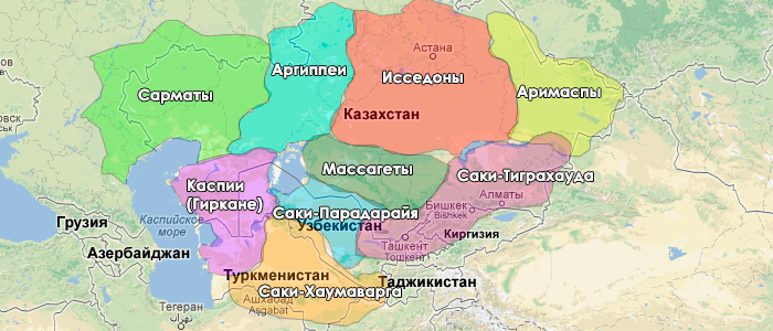 племена территории Казахстана на http://historykz.blogspot.com/