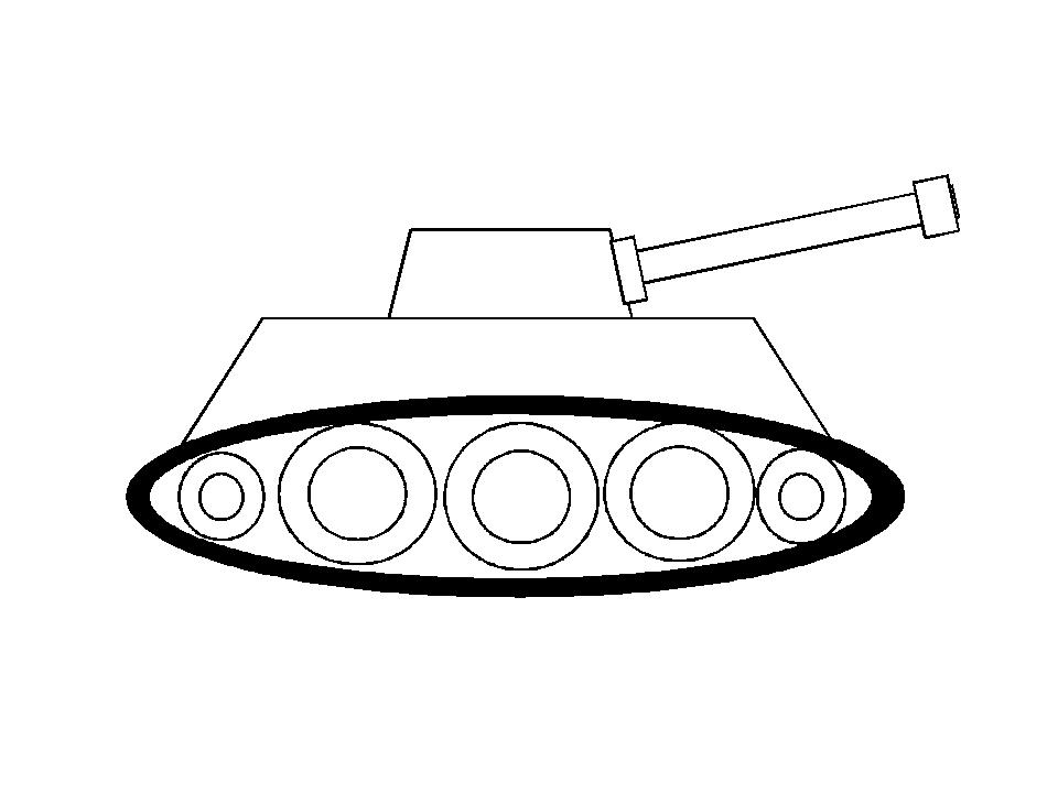 Нарисовать танк для открытки, надписью поздравляем рождением