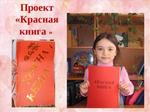 Проект «Красная книга »