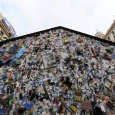 В мадриде появился отель из мусора