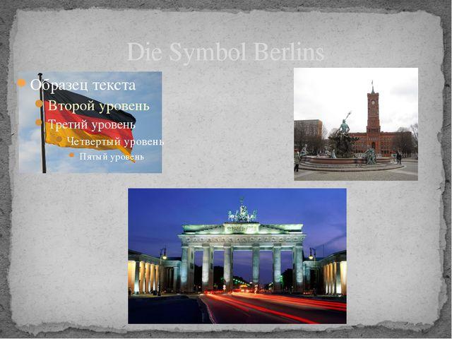 Die Symbol Berlins