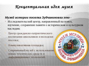 Концептуальная идея музея Центр гражданско-патриотического воспитания школьни