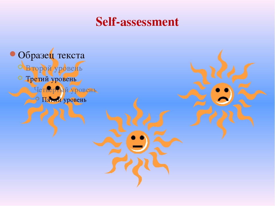 Self-assessment