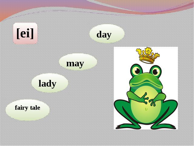[ei] fairy tale lady may day