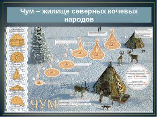Чум – жилище северных кочевых народов