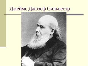 Джеймс Джозеф Сильвестр