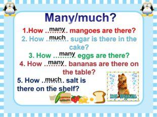 many many many much much