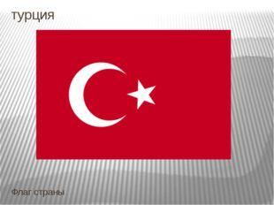 турция Флаг страны