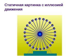 Cтатичная картинка с иллюзией движения