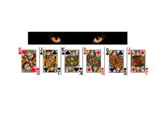 Вы видите 6 карт. Выберите одну из них, Смотрите на неё и думайте о ней, ДУМА