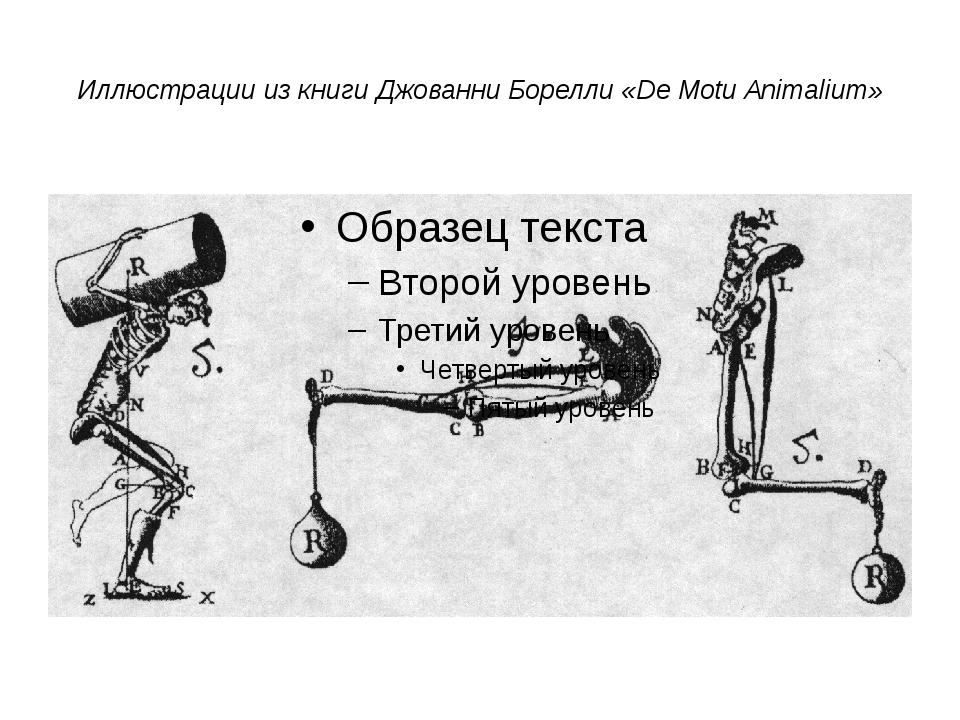 Иллюстрации из книги Джованни Борелли «De Motu Animalium»