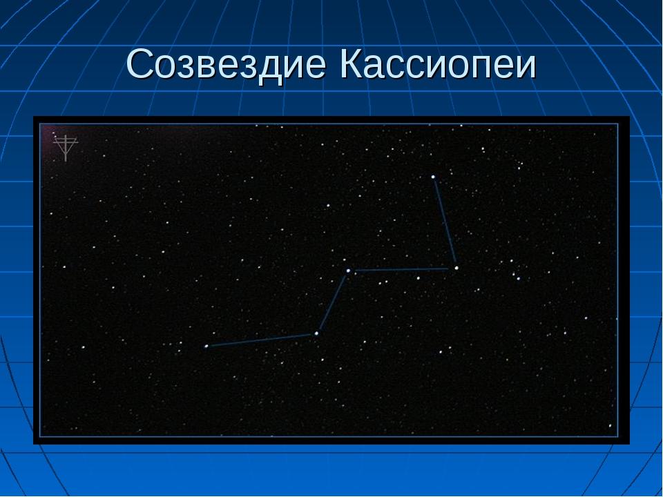 Созвездие Кассиопеи
