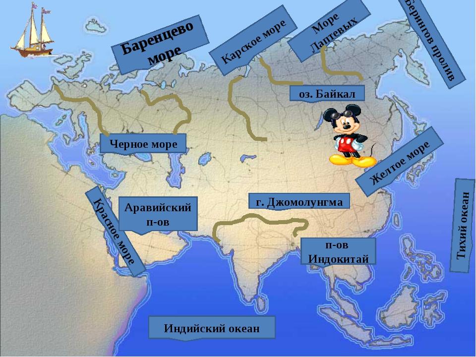 ЕВРАЗИЯ Что такое Евразия? Это - Европа плюс Азия. Из двух частей возник Самы...