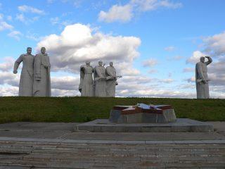 Мемориальный комплекс в Дубосеково