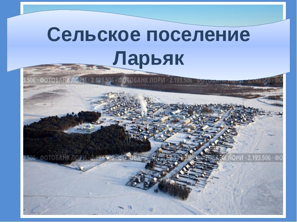 Сельское поселение Ларьяк