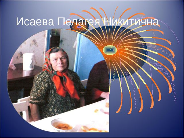 Исаева Пелагея Никитична