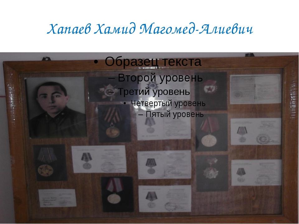 Хапаев Хамид Магомед-Алиевич