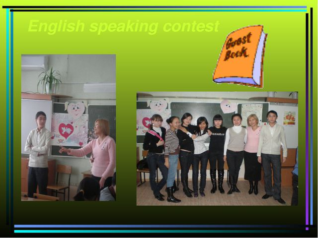 English speaking contest