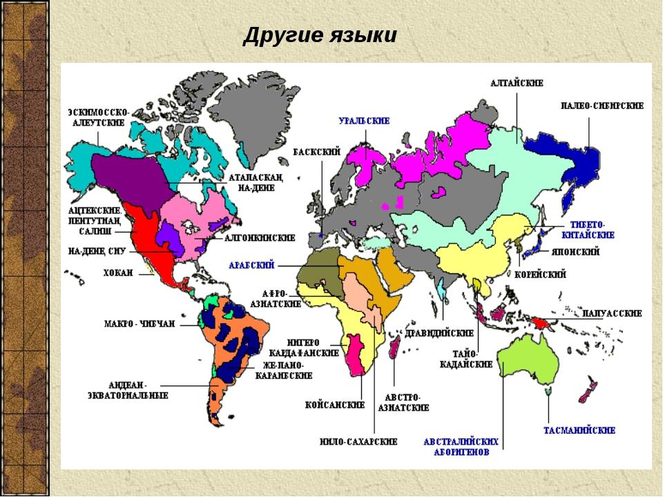 Другие языки