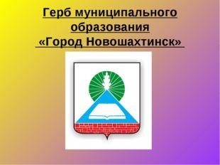 Герб муниципального образования «Город Новошахтинск»