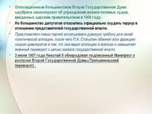 Оппозиционным большинством Вторая Государственная Дума одобрила законопроект