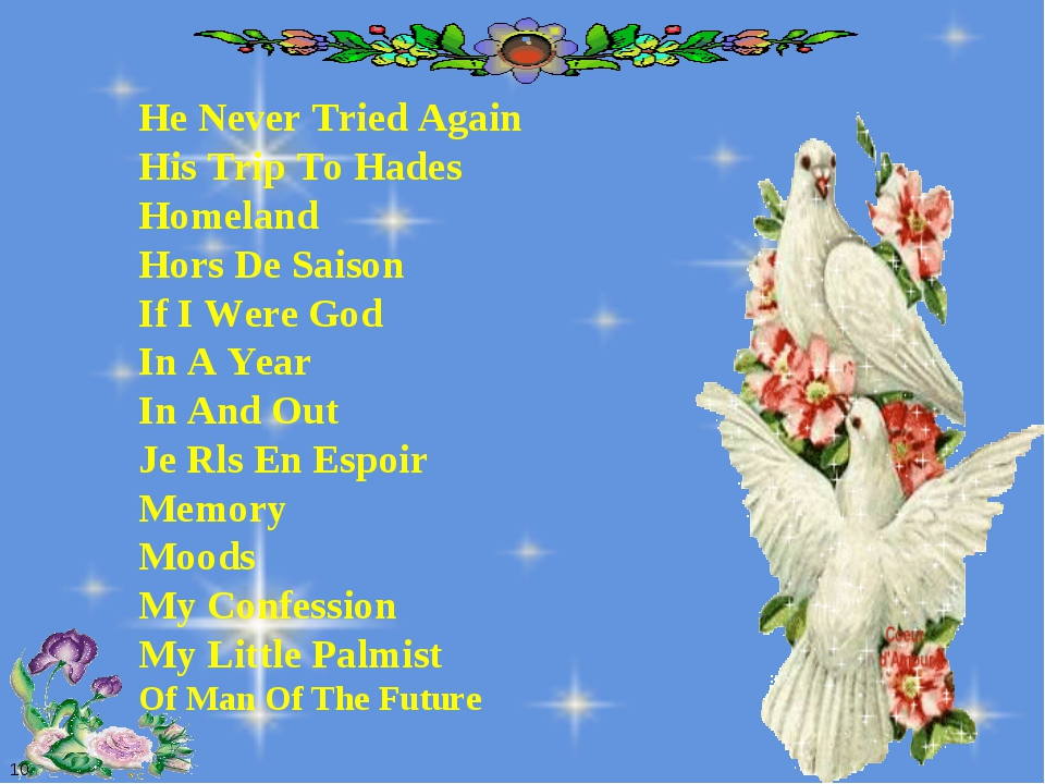 10 He Never Tried Again His Trip To Hades Homeland Hors De Saison If I Were G...