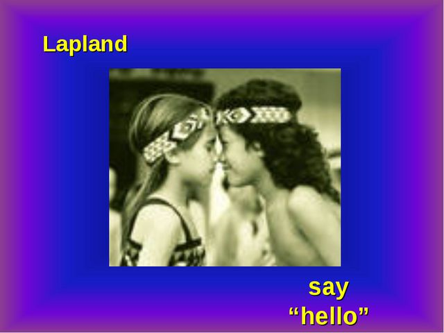 "Lapland say ""hello"""