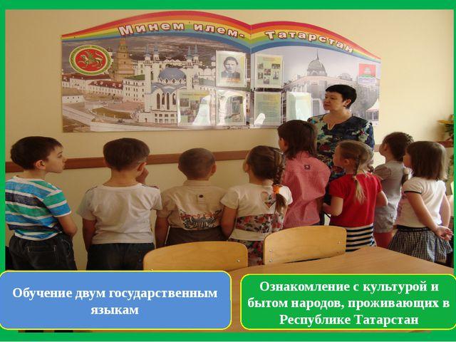 Ознакомление с культурой и бытом народов, проживающих в Республике Татарстан...