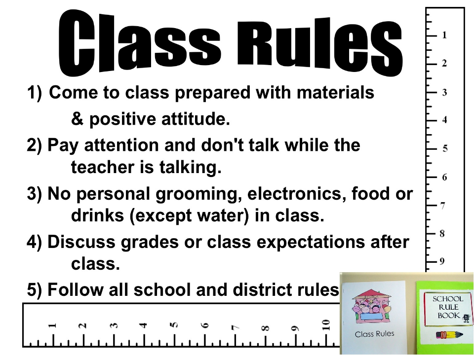what is the importance of following school rules and regulations