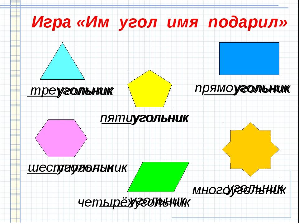 математика знакомство с углом
