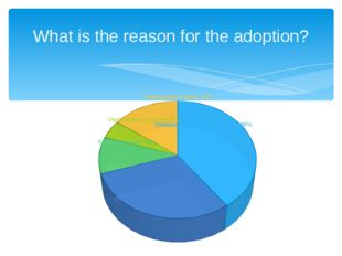 What is the reason for the adoption?