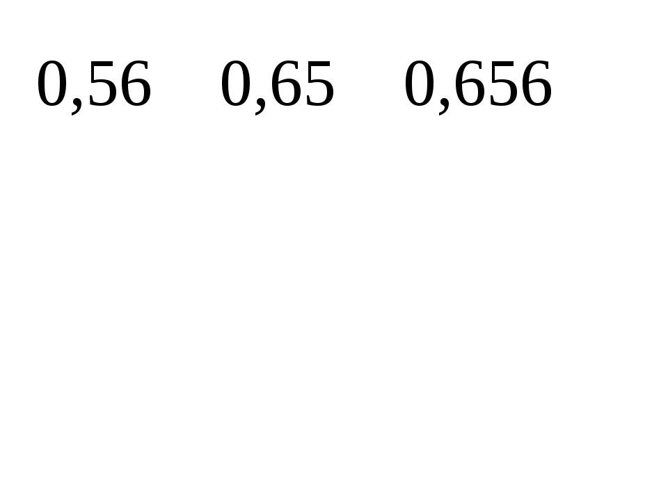 0,56 0,65 0,656