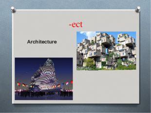 -ect Architecture