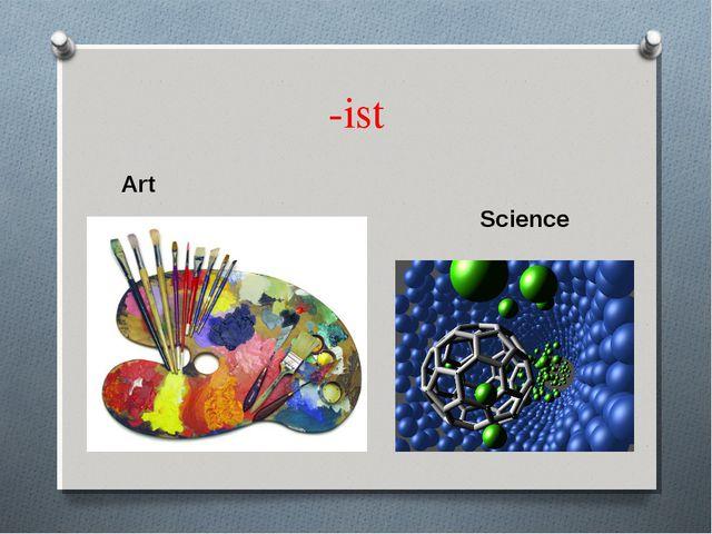 -ist Art Science