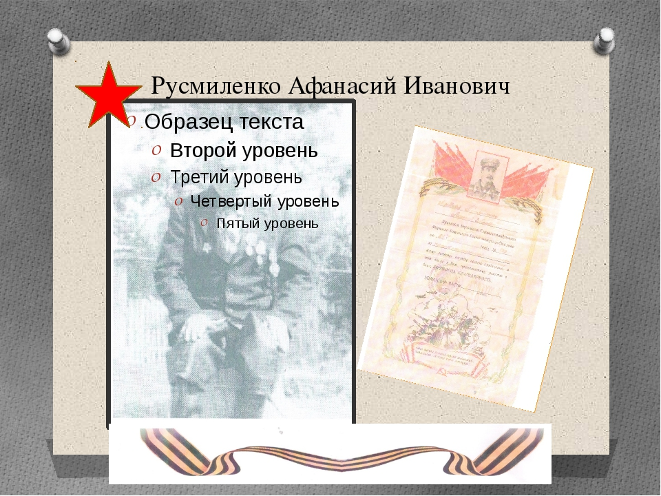 Русмиленко Афанасий Иванович