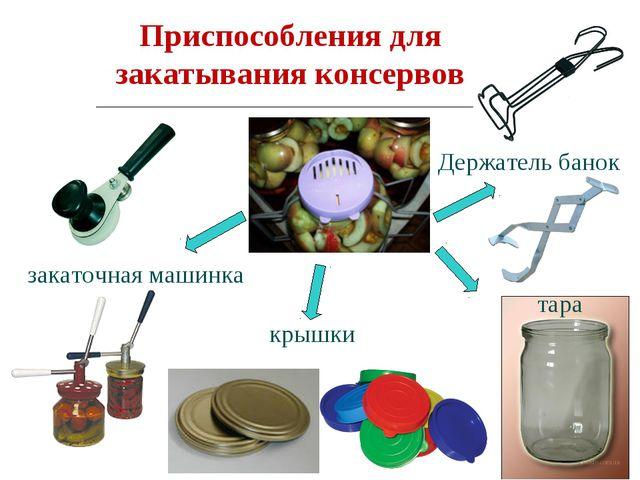 Приспособления для закатывания консервов Держатель банок крышки тара