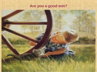 Are you a good son? Семья. Брак. Семья как малая группа. Функции семьи. Ценно